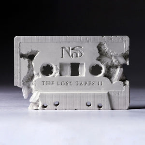 NaS - The Lost Tapes II - New 2 LP Record 2019 Def Jam Limited Edition White Vinyl - Hip Hop