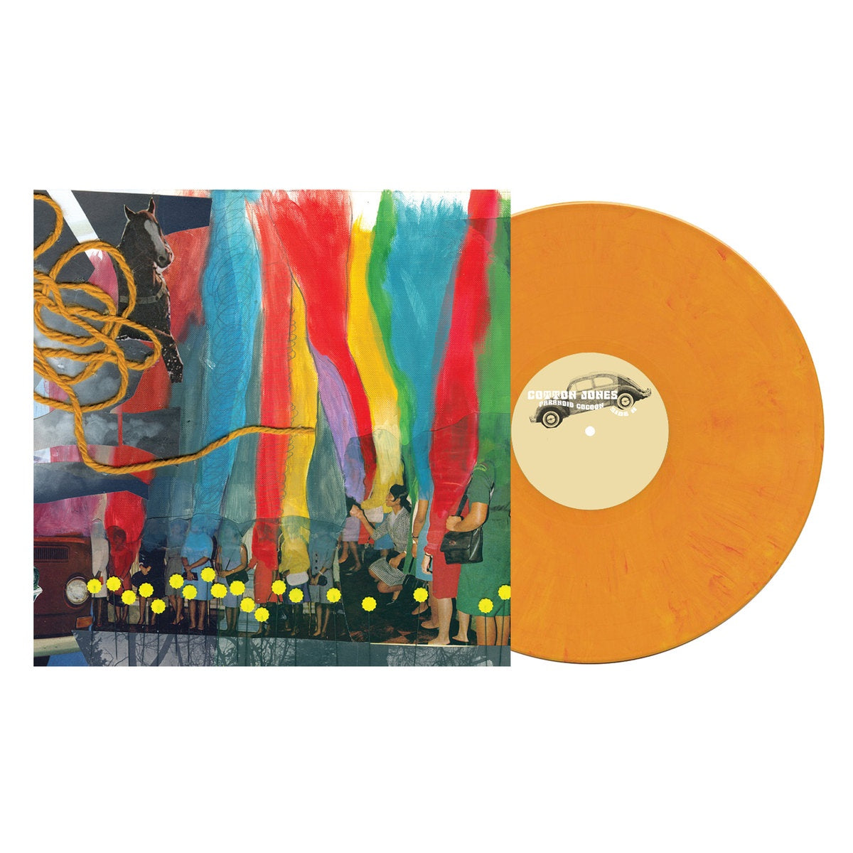Cotton Jones ‎– Paranoid Cocoon (2009) - New Lp Record 2019 Suicide Squeeze 180 gram Orange Vinyl - Psychedelic Rock / Country Rock