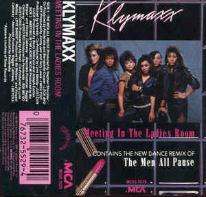 Klymaxx - Meeting In The Ladies Room - VG+ 1984 USA Cassette Tape - Funk/Disco