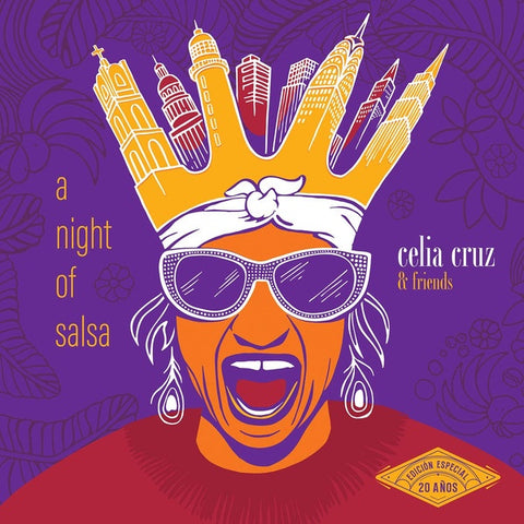 Celia Cruz & Friends ‎– A Night Of Salsa - New 2 LP Record 2019 Universal Latino Special Edition Vinyl Canada Import - Salsa / Afro-Cuban