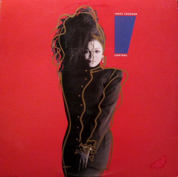 Janet Jackson ‎– Control - VG+ 1986 Stereo USA Original Press (With Matching Inner Sleeve) - Soul / New Jack Swing