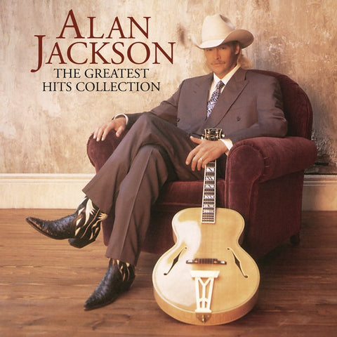 Alan Jackson ‎– The Greatest Hits Collection - New LP Record 2020 Arista USA Vinyl Compilation & Download - Country / Honky Tonk
