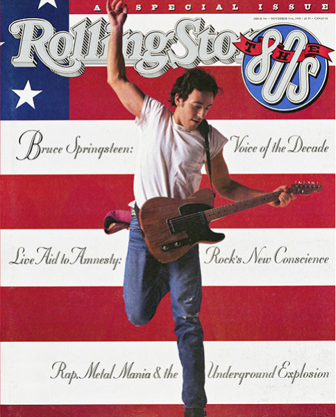 Rolling Stone Magazine - Issue No. 591 - Special Issue: The 80's / Bruce Springsteen