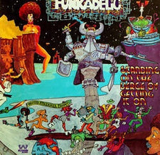 Funkadelic ‎– Standing On The Verge Of Getting It On - New Vinyl 2016 Limited Edition 4 Men With Beards Gatefold Reissue on  'Seashore Blue' Vinyl (Only 500 Made) - P.Funk