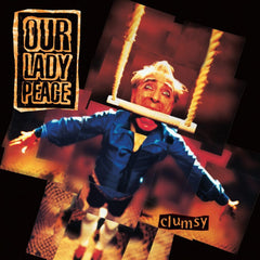 Our Lady Peace - Clumsy - New Vinyl 2017 SRC Vinyl Limited Edition Translucent Orange-Smoke Colored Vinyl - Alt-Rock / Rock