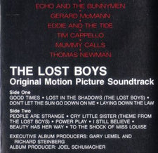Various - The Lost Boys: Original Motion Picture Soundtrack - Cassette 1987 Atlantic USA - Soundtrack / Rock