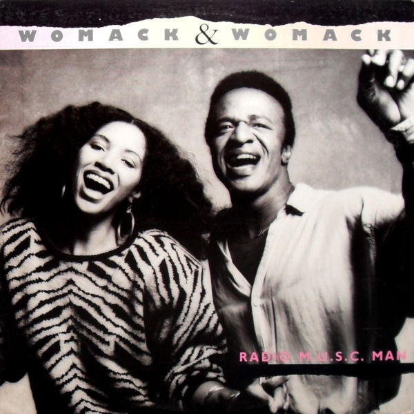 Womack & Womack ‎– Radio M.U.S.C. Man - Mint- Lp Record 1985 Canada Import Original Vinyl - Soul / Disco / R&B