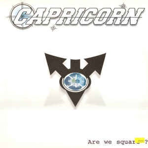 "Capricorn - Are We Square? - VG+ 12"" 1998 Proudly Recordings Netherlands - Electronic / Breaks"