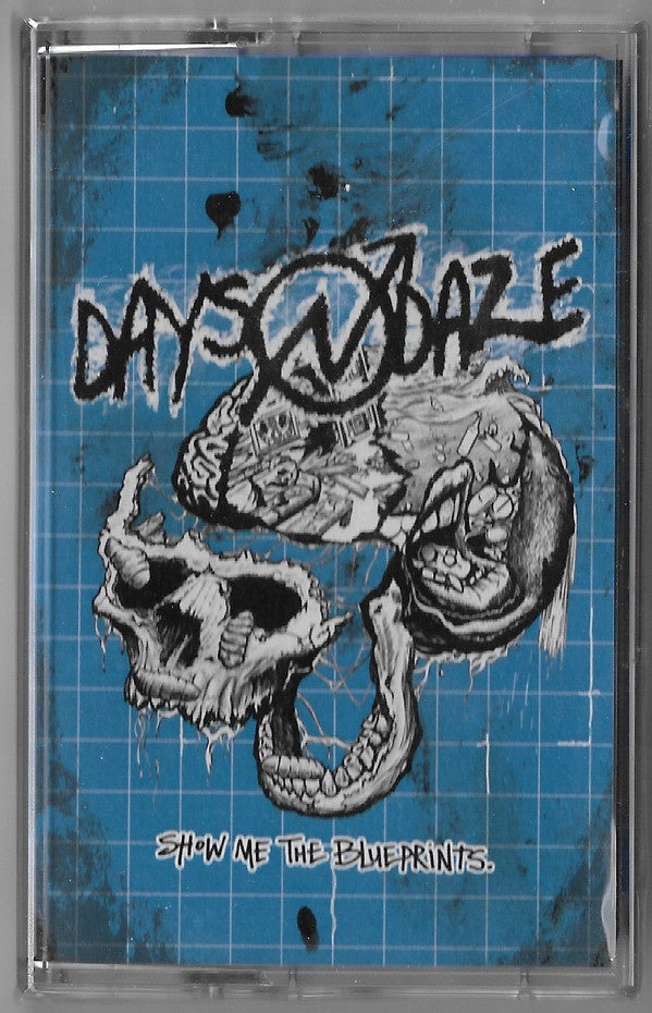 Days N' Daze ‎– Show Me The Blueprints - New Cassette Tape 2020 Fat Wreck USA Blue Transparent Shell - Crust Punk / Folk Rock