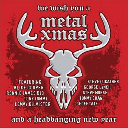 Various ‎– We Wish You A Metal Xmas And A Headbanging New Year - New LP Record 2020 Armoury Records Limited Silver Bells Colored Vinyl- Holiday / Metal