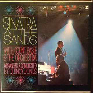 Frank Sinatra With Count Basie - Sinatra At The Sands - VG 1966 Mono USA Original Press - Jazz