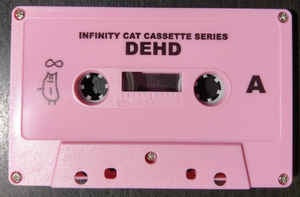 Dehd ‎– Dehd - New Cassette 2017 Infinity Cat US Tape Limited Edition Pink Shell - Chicago Indie Rock