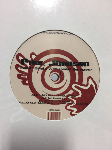 "Paul Johnson ‎– Simple Beats With Sweet Samples - Mint- 12"" Single USA 1999 - Chicago House"