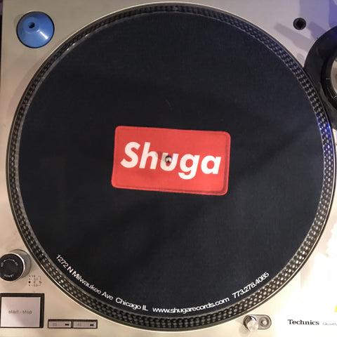 Shuga Records 2018 Limited Edition Vinyl Record Slipmat Red Patch