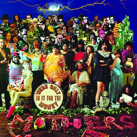 "Frank Zappa - We're Only In It For The Money - New Vinyl 2018 UMe RSD Black Friday First Release 12"" Picture Disc (Limited to 4000) - Psych / Prog Rock"