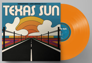 Khruangbin & Leon Bridges - Texas Sun - New Ep Record 2020 Dead Oceans USA Indie Exclusive Orange Translucent Vinyl & Download - Funk / Soul / Chill