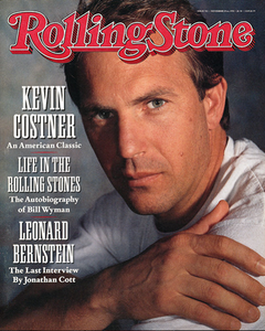 Rolling Stone Magazine - Issue No. 592 - Kevin Costner