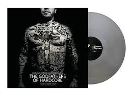 Aaron Drake - The Godfathers of Hardcore (Official Motion Picture Score) - New Vinyl Lp 2018 Wargod Collective RSD Exclusive on 180gram Silver Vinyl with Poster and Gatefold Jacket - Soundtrack / Documentary