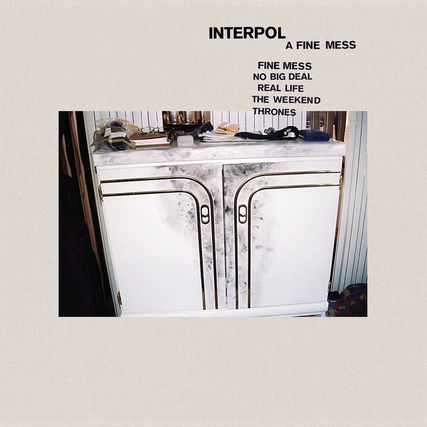 Interpol - A Fine Mess EP - New Vinyl 2019 - Indie Rock
