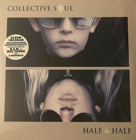 "Collective Soul - Half and Half - New 12"" Single Record Store Day 2020 Fuzze-Flex USA 180 Gram RSD Translucent Vinyl - Alternative Rock"