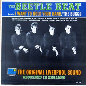 The Buggs ‎- The Beetle Beat: The Original Liverpool Sound - VG Mono Vinyl 1964 USA - Rock / Pop