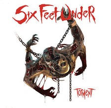 Six Feet Under ‎– Torment - New Vinyl 2017 Metal Blade 180Gram Black Vinyl EU Pressing - Death Metal