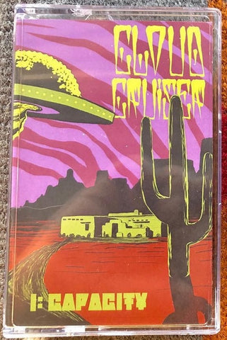 Cloud Cruiser - I: CAPACITY - New Cassette Album 2020 Shuga Green Colored Tape & Insert - Stoner Rock / Doom Metal / Sludge