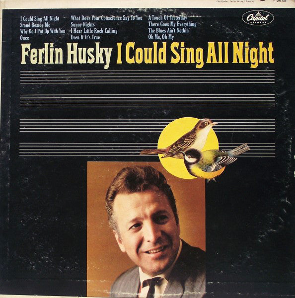 Ferlin Husky - I Could Sing All Night - VG 1966 Mono USA - Country