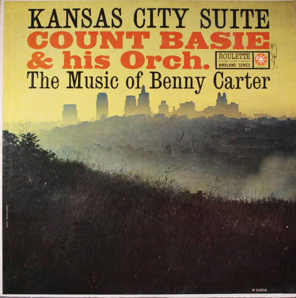 Count Basie & His Orchestra ‎– Kansas City Suite - The Music Of Benny Carter - VG LP Record 1960 Roulette USA Mono White Label Promo - Jazz / Big Band