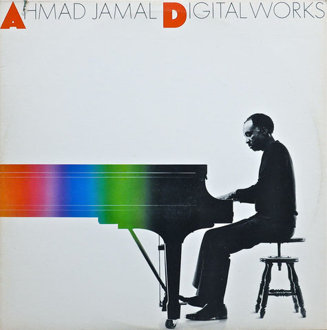 Ahmad Jamal ‎– Digital Works VG+ 1985 Atlantic 2-LP Gatefold Stereo Pressing - Jazz