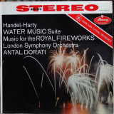 Antal Dorati - Handel-Harty: Water Music Suite & Music For The Royal Fireworks - VG 1958 Stereo USA (Original Press) - Classical