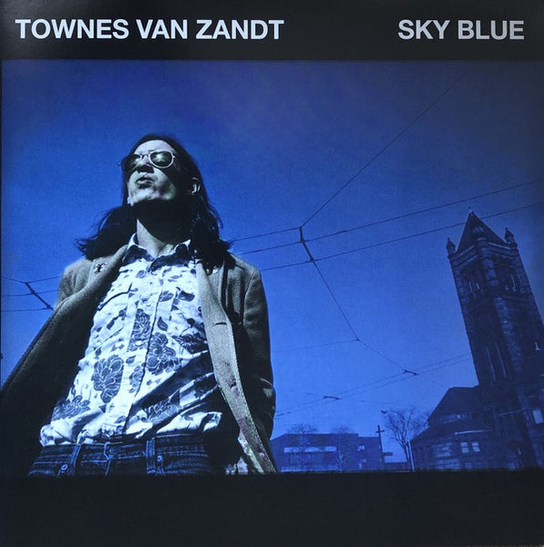Townes Van Zandt ‎– Sky Blue - New Lp Record2019 USA Sky Blue Color Vinyl - Folk / Country