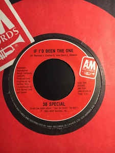 "38 Special- If I'd Been The One / Twentieth Century Fox - 7"" Single 45RPM- 1983 A&M Records USA - Pop/Rock"