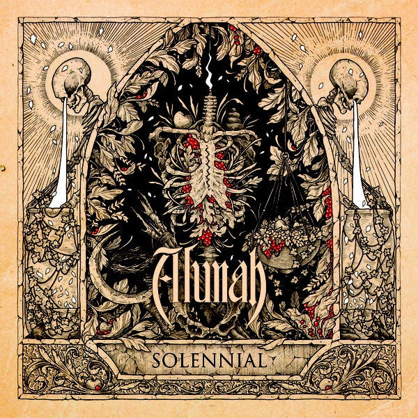 Alunah ‎– Solennial - New Vinyl Record 2017 Svart Records Limited Edition EU Gatefold Pressing - Doom Metal