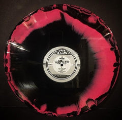 Hornss - Telepath - New Vinyl 2017 STB Records 'Die Hard' Edition of 100 on Black and Pink Swirl 180gram Vinyl + Download, Insert Sheet, Custom Printed Storage Bag- Doom Metal / Stoner Metal