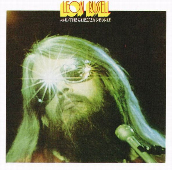 Leon Russell And The Shelter People - VG Lp Record 1974 Stereo Original Press USA - Classic Rock
