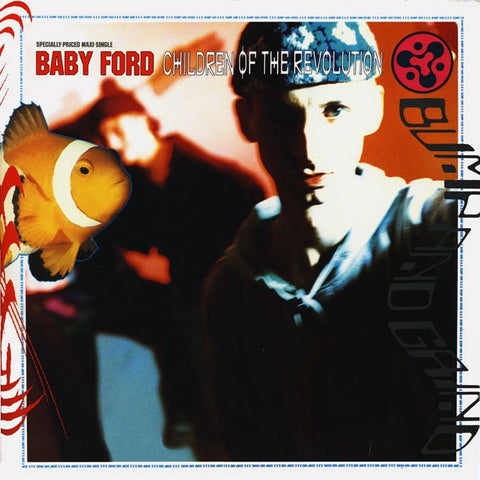 "Baby Ford - Children Of The Revolution - VG+ 12"" Single 1989 Sire USA - Acid House"