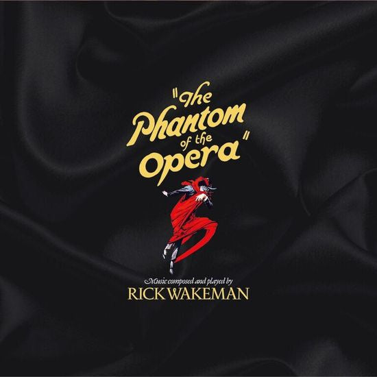 Rick Wakeman - The Phantom Of The Opera - New Vinyl 2017 One Way Static  Records USA Deluxe 2 Lp Pressing with Liner Notes and Gatefold Jacket -  Rock /