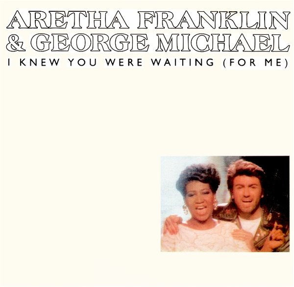 Aretha Franklin And George Michael ‎– I Knew You Were Waiting (For Me) - Mint- 45rpm 1987 USA Arista Records - Rock / Pop