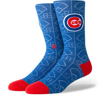 Stance Socks - Cubs Scorebook - Men's size 9-12