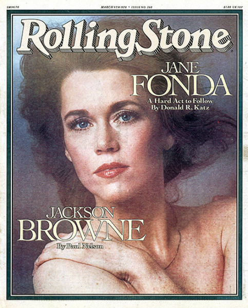 Rolling Stone Magazine - Issue No. 260 - Jane Fonda
