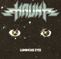 Haunt ‎– Luminous Eyes - New Vinyl Lp 2018 Shadow Kingdom Reissue on 'Halloween' Orange/White Colored Vinyl (Limited to 300!) - Heavy Metal