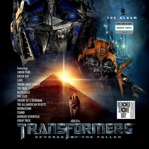 Various Artists - Transformers - Revenge Of The Fallen - New 2 Lp 2019  Reprise RSD First Release on Green Vinyl - '09 Soundtrack