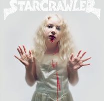 Starcrawler ‎– Starcrawler - New Vinyl Lp 2018 Rough Trade Limited Edition Pressing on White Vinyl with Download - Alt-Rock / Punk