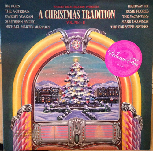 "Various - A Christmas Tradition ""Volume II / Two - Mint- 1988 Stereo USA Record - Holiday / Christmas"