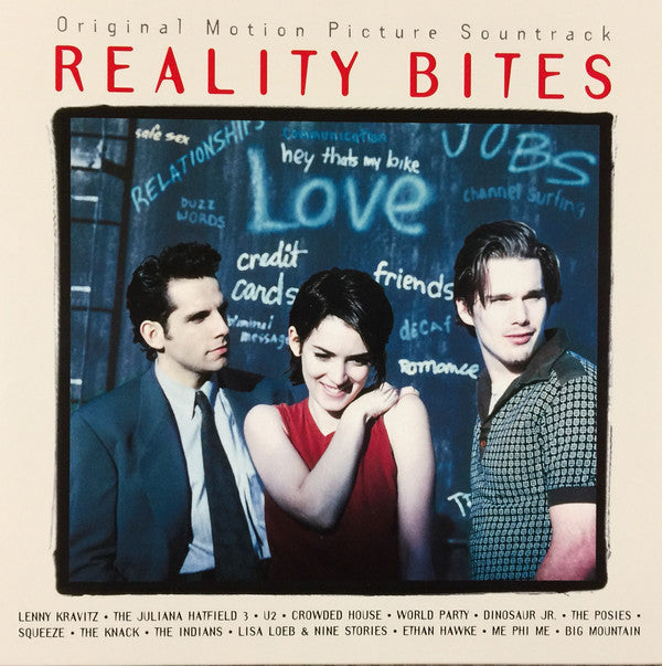 Various ‎– Reality Bites - New Vinyl Record 2015 RCA / Sony Stereo Reissue - 90's Soundtrack
