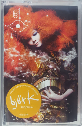 Björk ‎– Biophilia- New Cassette 2019 Limited Edition Color Tape UK Import - Electronic / Experimental