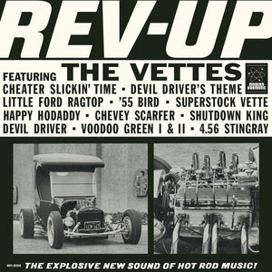 The Vettes ‎– Rev-Up (1964) - New LP Record 2018 Modern Harmonic USA Blue Vinyl - Surf Rock