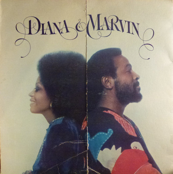 Diana Ross & Marvin Gaye ‎– Diana & Marvin - VG 1973 Stereo (Original Press) USA - Soul/Funk
