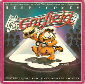 Lou Rawls And Desir̩e Goyette - Here Comes Garfield - Mint- 1982 Stereo USA - Soundtrack